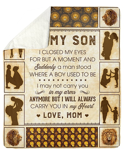 To My Son I Will Always Carry You In My Heart