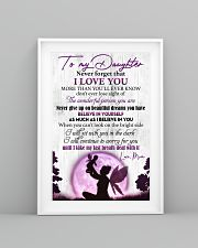 Daughter Never GiveUp On Beautiful Dreams You Have 11x17 Poster lifestyle-poster-5