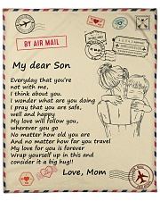 """Son My Love For You Is Forever Fleece Blanket - 50"""" x 60"""" front"""