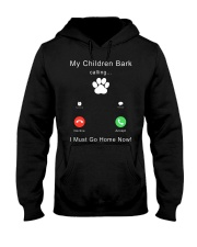 My Children Bark Calling Hooded Sweatshirt thumbnail