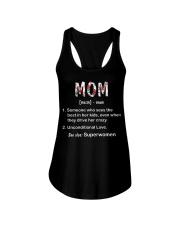 Mom definition Ladies Flowy Tank thumbnail