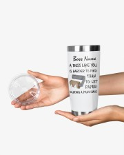 Personalized Name Boss Like U Harder To Find 20oz Tumbler aos-20oz-tumbler-lifestyle-front-23