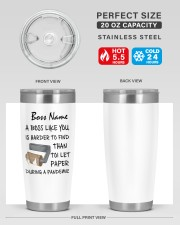 Personalized Name Boss Like U Harder To Find 20oz Tumbler aos-20oz-tumbler-lifestyle-front-60