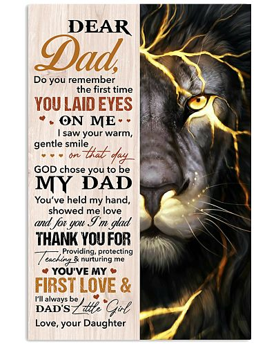 Dad Lion Thanks For Providing And Nurturing Me