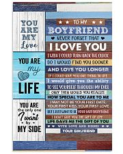 Never Forget That I Love U Girlfriend To Boyfriend 11x17 Poster thumbnail