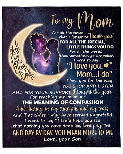Mom Moon Thanks 4All The Special Little Things UDo