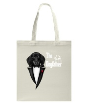 The DogFather Dachshund Tote Bag thumbnail