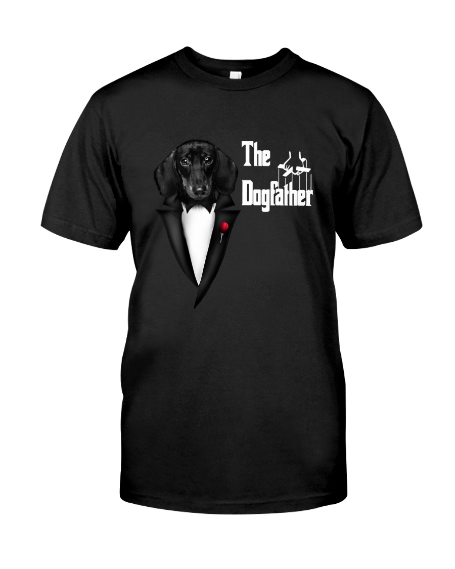 The DogFather Dachshund Classic T-Shirt