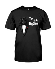 The DogFather Dachshund Classic T-Shirt front