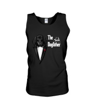 The DogFather Dachshund Unisex Tank thumbnail
