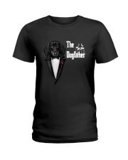The DogFather Dachshund Ladies T-Shirt thumbnail