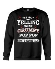 I'm A grumpy Pop pop Crewneck Sweatshirt thumbnail