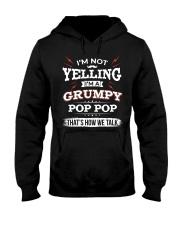 I'm A grumpy Pop pop Hooded Sweatshirt thumbnail