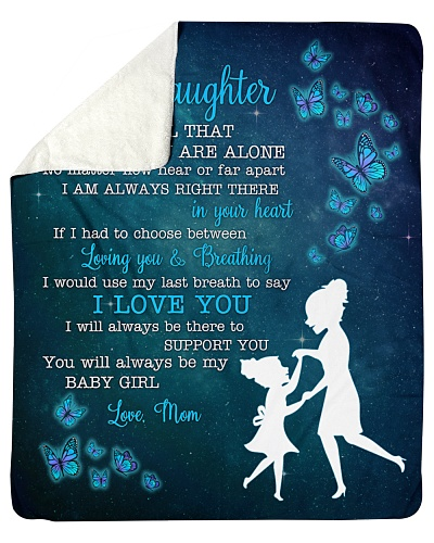 To My Daughter My Baby Girl