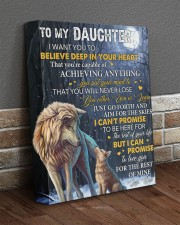 I Want U To Believe Deep In Heart Dad To Daughter 11x14 Gallery Wrapped Canvas Prints aos-canvas-pgw-11x14-lifestyle-front-10