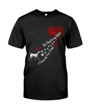 Dalmantian Road To My Heart Classic T-Shirt front