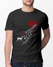 Dalmantian Road To My Heart Classic T-Shirt lifestyle-mens-crewneck-front-13