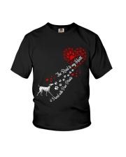 Dalmantian Road To My Heart Youth T-Shirt thumbnail