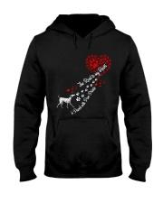 Dalmantian Road To My Heart Hooded Sweatshirt thumbnail