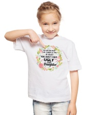 You Don't Have Ugly Stepdaughter Youth T-Shirt lifestyle-youth-tshirt-front-2