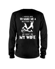 God Sent Me My Wife Long Sleeve Tee thumbnail