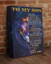 Never Forget That I Love You Lion Mom To Son V2 11x14 Gallery Wrapped Canvas Prints aos-canvas-pgw-11x14-lifestyle-front-09