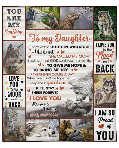 Daughter Wolf I'll Stay Your Heart Forever FromMom