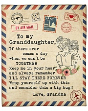 """If there ever comes a day-Grandma To Granddaughter Fleece Blanket - 50"""" x 60"""" front"""