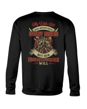 My Little Girl Will Never Have Daddy Issues Crewneck Sweatshirt thumbnail