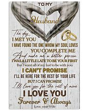 Husband Promise I'll Love You For The Rest Of Mine 11x17 Poster front