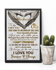 Husband Promise I'll Love You For The Rest Of Mine 11x17 Poster lifestyle-poster-8