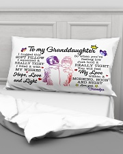 Granddaughter Hold It You'll Feel MyLove Within In Rectangular Pillowcase aos-pillow-rectangular-front-lifestyle-03