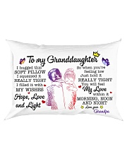 Granddaughter Hold It You'll Feel MyLove Within In Rectangular Pillowcase front