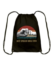 Best Spoiled Uncle Ever Drawstring Bag thumbnail
