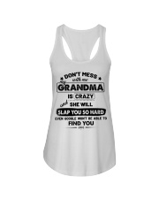 Don't Mess With Me My Grandma Is Crazy Ladies Flowy Tank thumbnail