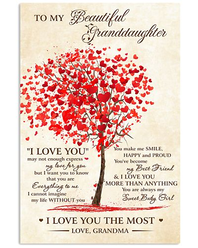 To My Beautiful Granddaughter