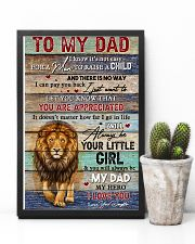 Dad Lion You'll Always Be My Dad My Hero I Love U 11x17 Poster lifestyle-poster-8