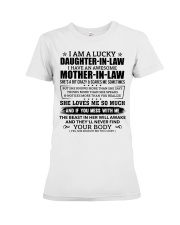 Lucky Daughter-In-Law HaveAn Awesome Mother-In-Law Premium Fit Ladies Tee thumbnail