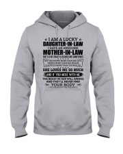 Lucky Daughter-In-Law HaveAn Awesome Mother-In-Law Hooded Sweatshirt front