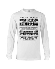 Lucky Daughter-In-Law HaveAn Awesome Mother-In-Law Long Sleeve Tee thumbnail