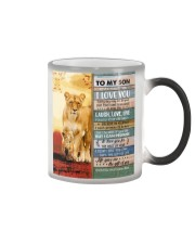 Lion- Never Forget That I Love U Mom-To-Son Color Changing Mug thumbnail