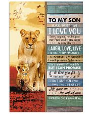 Lion- Never Forget That I Love U Mom-To-Son 11x17 Poster thumbnail