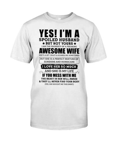 I'm A Spoiled Husband Of A Freaking Awsm Wife