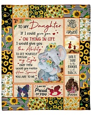 """If I could give U on thing in life Mom-To-Daughter Fleece Blanket - 50"""" x 60"""" front"""