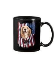 American Flag Cocker spaniel Mug thumbnail