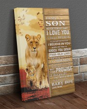 Lion- Never Forget That I Love You Mom-To-Son 20x30 Gallery Wrapped Canvas Prints aos-canvas-pgw-20x30-lifestyle-front-10