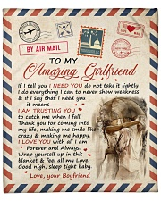"If I Tell U I Need U Boyfriend To Girlfriend Fleece Blanket - 50"" x 60"" thumbnail"