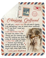 "If I Tell U I Need U Boyfriend To Girlfriend Sherpa Fleece Blanket - 50"" x 60"" thumbnail"