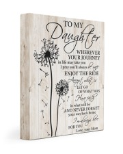 Whenever Journey In Life May Take U To Daughter 11x14 Gallery Wrapped Canvas Prints front