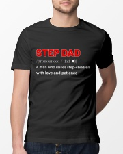 Step Dad Shirt Classic T-Shirt lifestyle-mens-crewneck-front-13